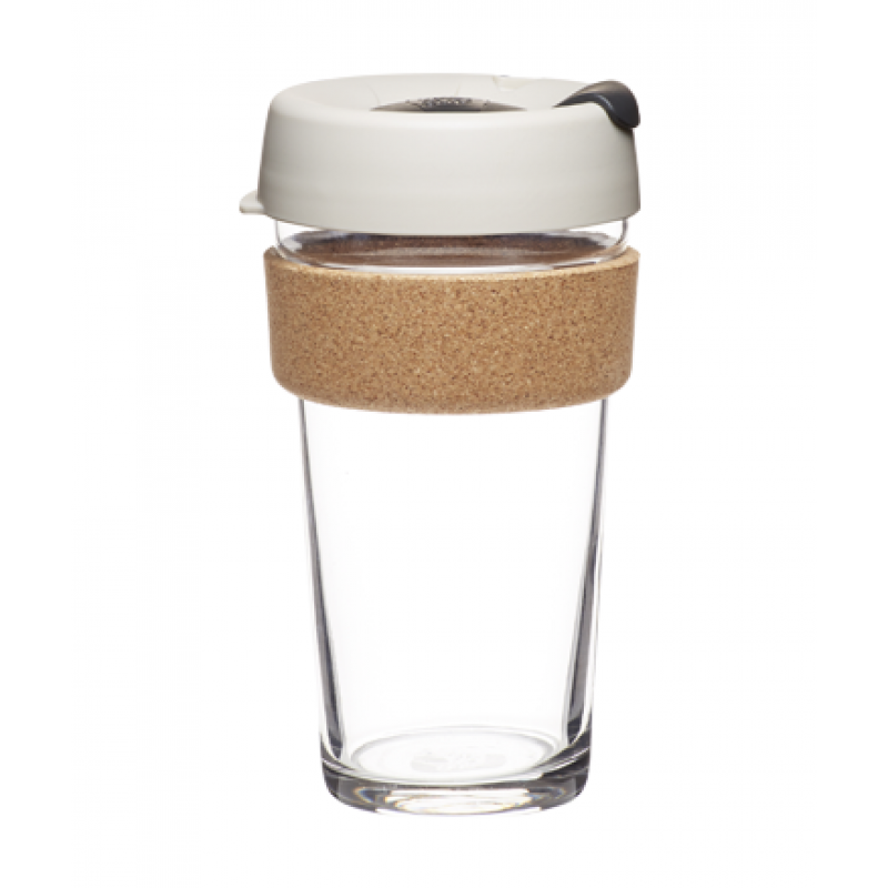 KeepCup BREW CORK EDITION - Coffee to go Becher aus Glas - Filter