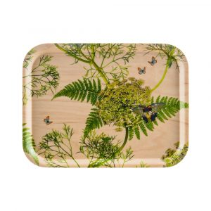 ÅRY HOME - Tablett aus Birkenholz - Natural Dill-0