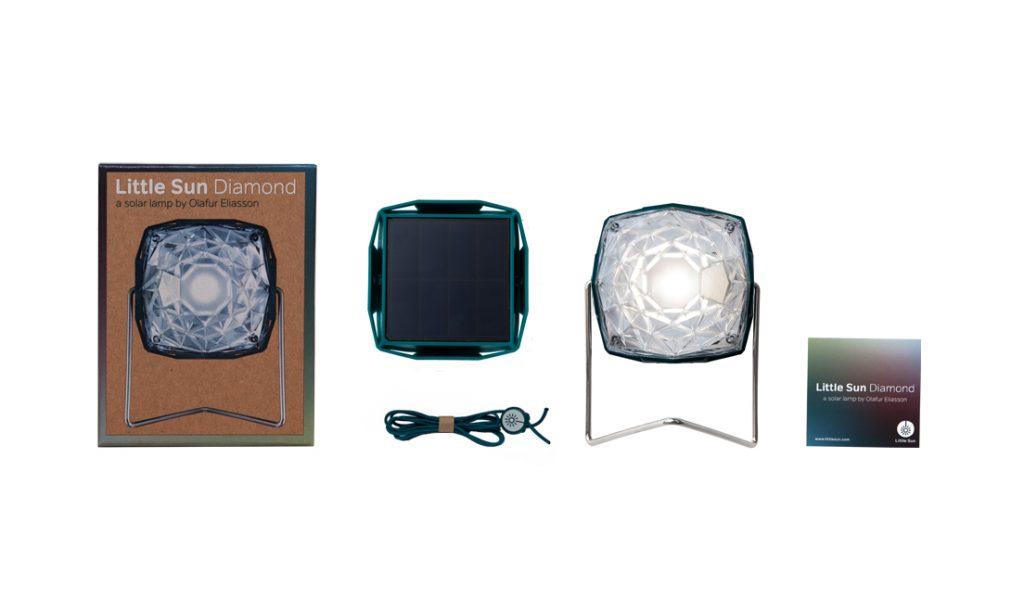 LITTLE SUN DIAMOND - Solarlampe-2146