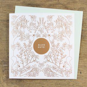 bow-hummingbird-oekologische-grusskarte-geburtstagskarte-alles-gute