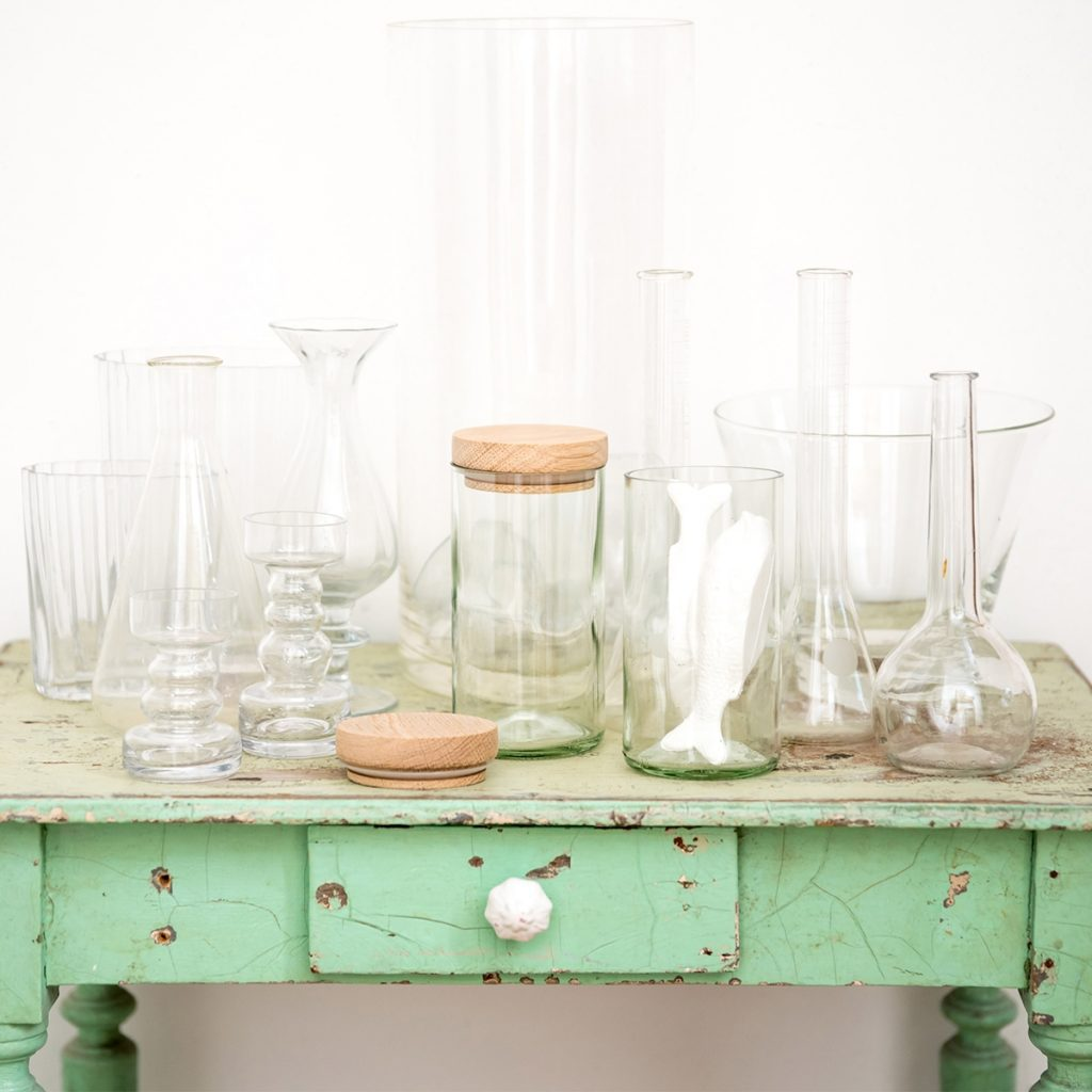 side-by-side-recycling-vorratsglas-weiss