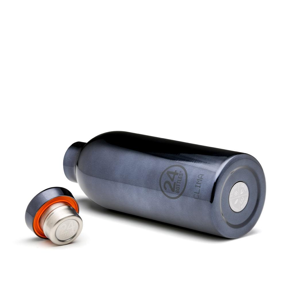 24-bottles-clima-edelstahl-isolierflasche-black-radiance-500ml