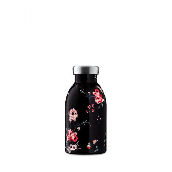 24bottles-clima-edelstahl-isolierflasche-ebony-rose-330ml