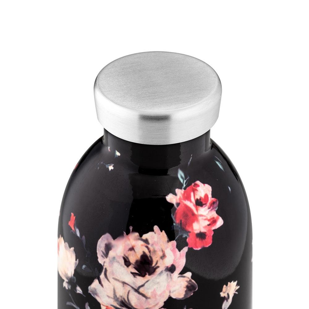 24-bottles-clima-edelstahl-isolierflasche-ebony-rose-500ml