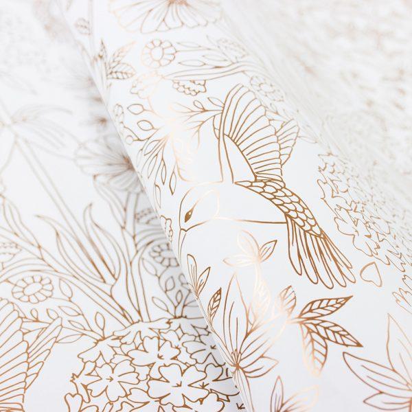 bow-hummingbird-geschenkpapier-flower-garden