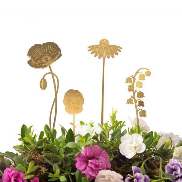 another-studio-brass-blooms-garden-messing-blumendekoration-4er-set