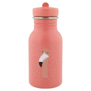 trixie-kindertrinkflasche-aus-edelstahl-350ml-mrs-flamingo