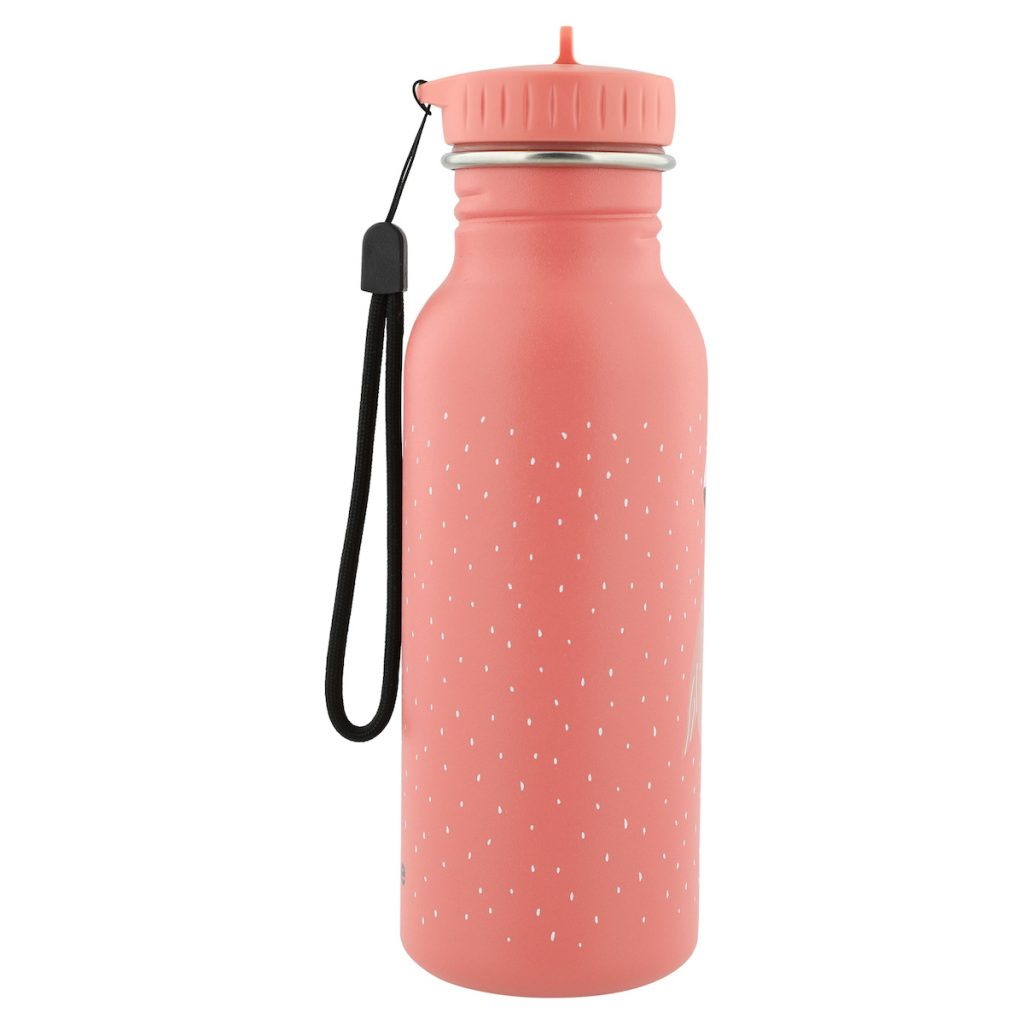 trixie-kindertrinkflasche-aus-edelstahl-500ml-mrs-flamingo